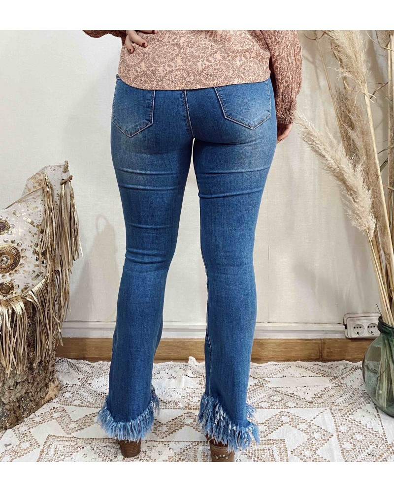 Jeans Flare Flecos
